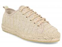 Женские эспадрильи Las Espadrillas Oro FE0894-18 Made in Spain