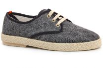Комфортные мокасины Las Espadrillas Negro Fv5503-27 Made in Spain