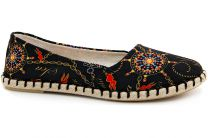 Женские мокасины Las Espadrillas V5909-27 Made in Spain