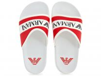 Сланцы Armani Junior Flip Flops Rosso 4519-13 Made in Italy