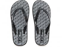 Мужские вьетнамки Las Espadrillas Flip Flops F6574-2713 Made in Italy