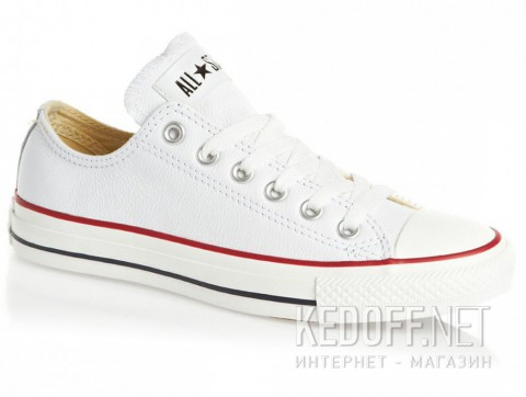 Кеды CONVERSE 132173 CT OX WHITE - фото (Артикул: 132173C)