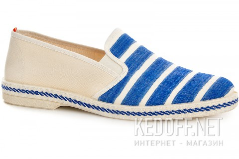 Мужские мокасины Las Espadrillas Fv5059-1 Made in Spain