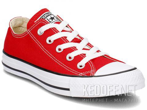 Полукеды Converse All Star M9696 Red Canvas - фото (Артикул: M9696C)
