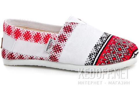 Женские чешки Las Espadrillas Vyshyvanka 3015-53 Made in Ukraine