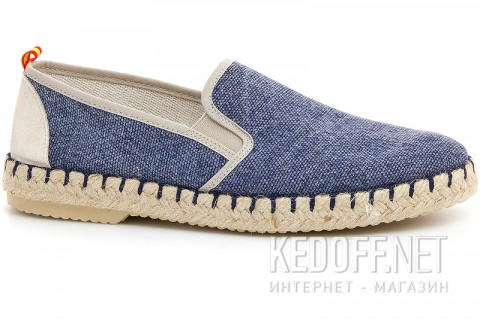 Мокасины Las Espadrillas Marino Fv5651-89 Made in Spain - фото (Артикул: FV5651-89)