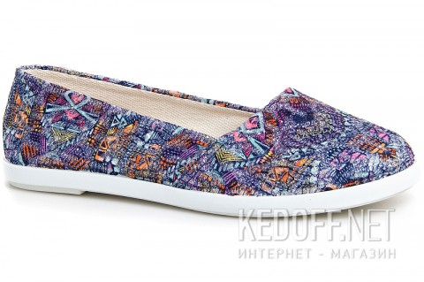 Женские балетки Las Espadrillas Multi Kd600-24 Made in Spain
