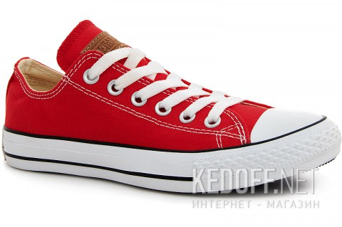 Кеды Las Espadrillas Red Classic Low Le38-9696 - фото (Артикул: LE38-9696)