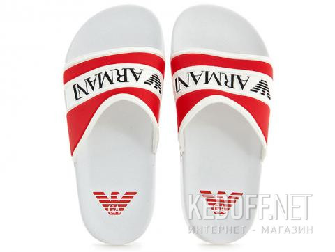 Сланцы Armani Junior Flip Flops Rosso 4519-13 Made in Italy - фото (Артикул: 4519-13)