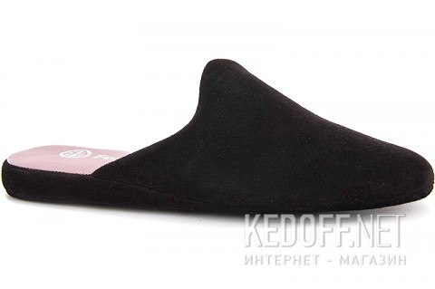 Домашние тапочки Forester Home 550-27 Black Suede